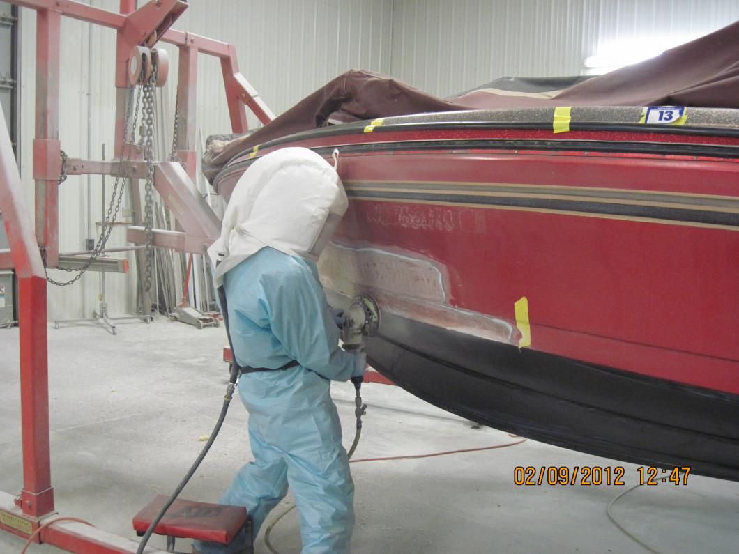 Boat Repairs Made Easy Using West System Epoxy Resin!